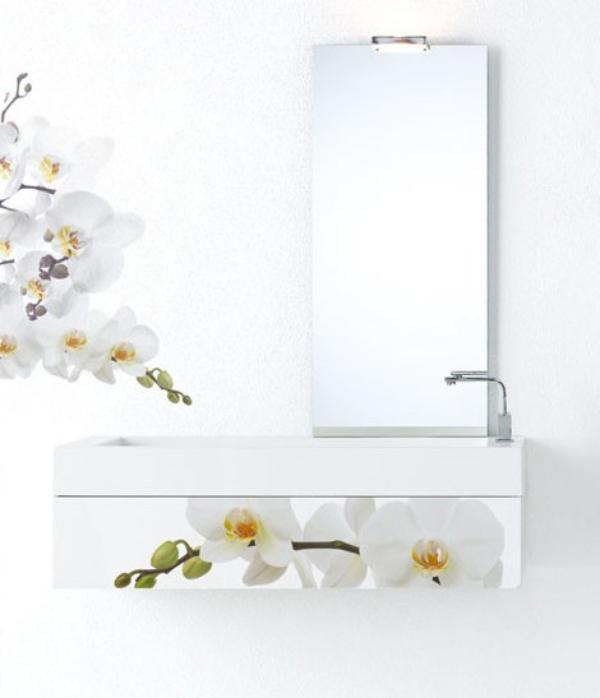 Muebles De Baño Tuco:Muebles de Baño con Decoración Floral