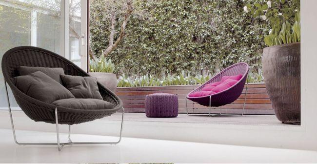 Aqua muebles de exterior para casas contempor neas - Muebles de exterior de diseno ...