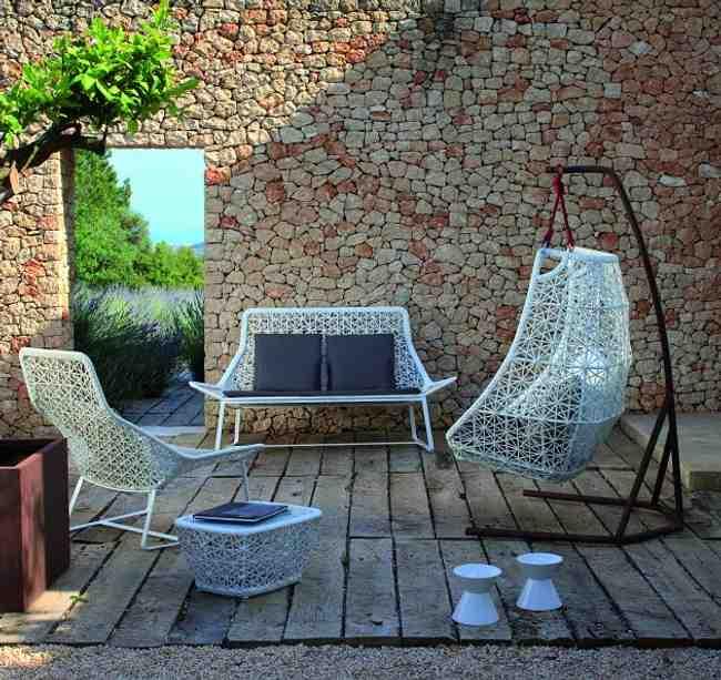 Muebles de Jardín de Diseño en Ratán