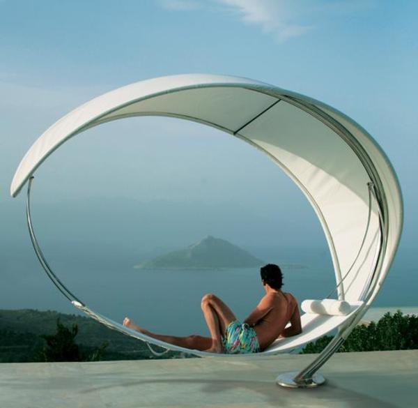 muebles jardin lujo hamaca wave 1 Muebles de Jardín de Lujo: Hamaca Wave