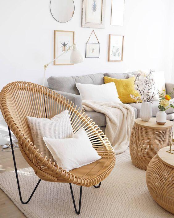 muebles tejidos naturales