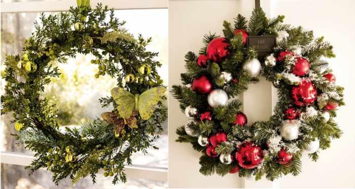 Navidad 12ideas decorar casa coronas de en ventana y - Decorar casa en navidad ...