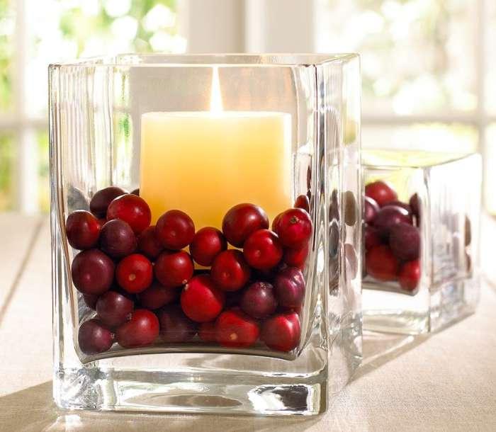 navidad 12ideas decorar casa frutos rojos Navidad: 12 Ideas para Decorar la Casa  Continuación