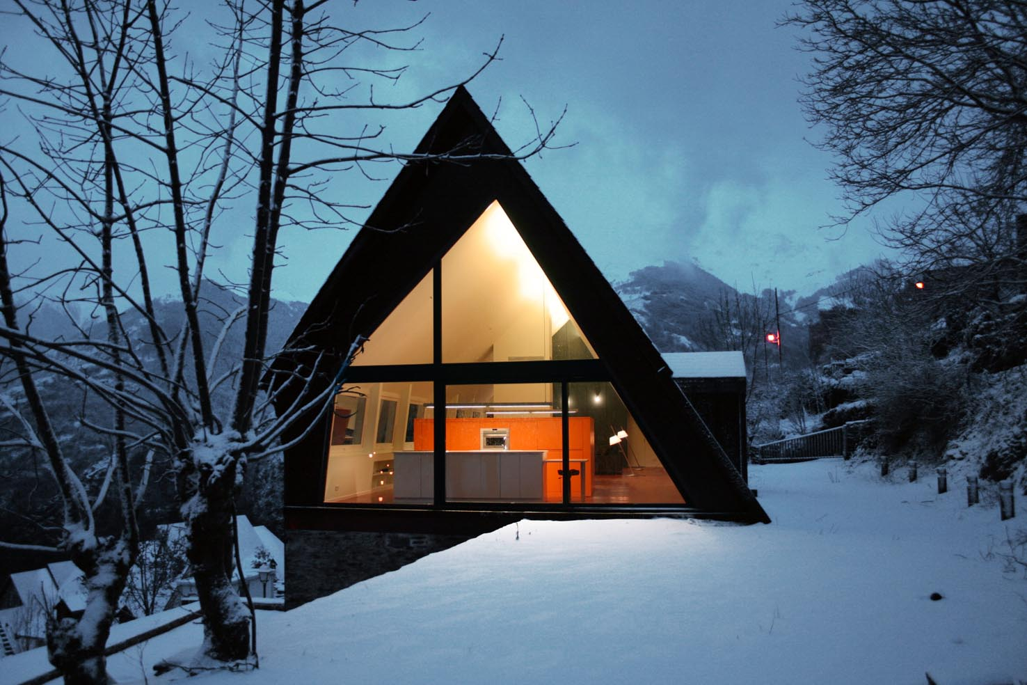 Nevado, Interior Iluminado