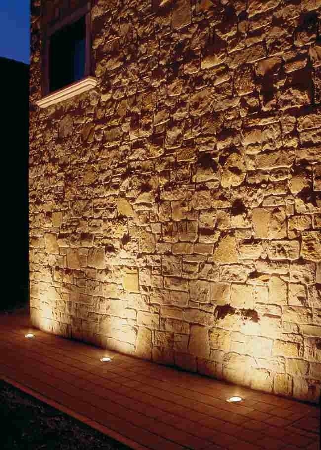 Iluminaci n exterior empotrable de pared o suelo for Iluminacion de exteriores