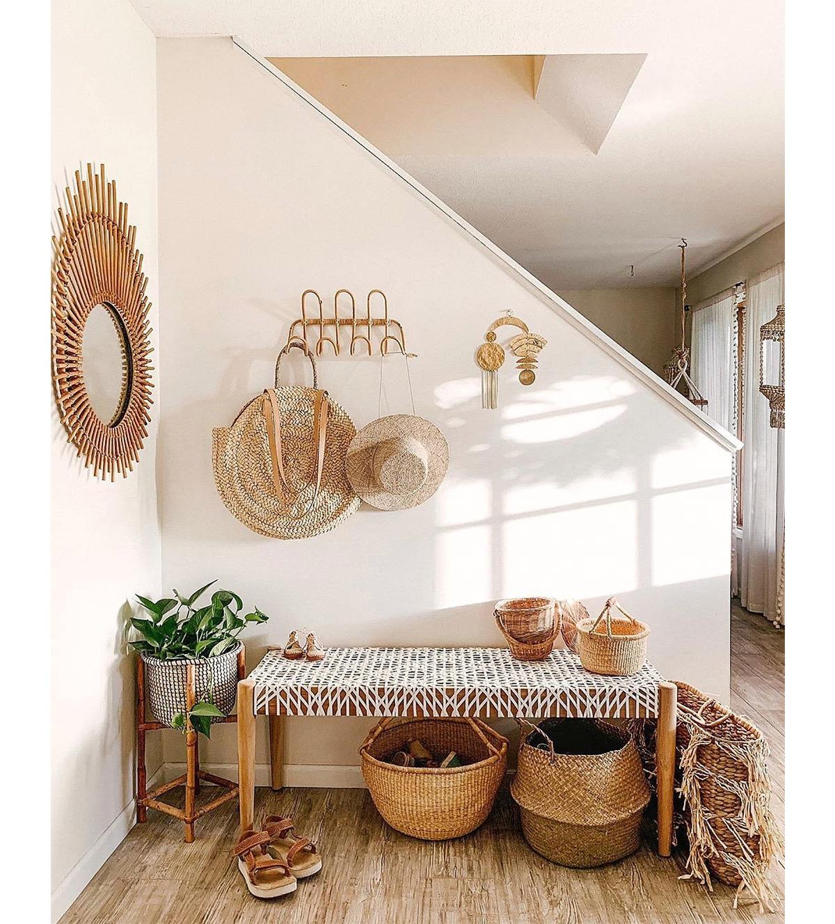 organiza el recibidor o zona de entrada de tu casa