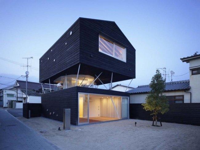 Original dise o de casa en jap n for Casa moderna japonesa