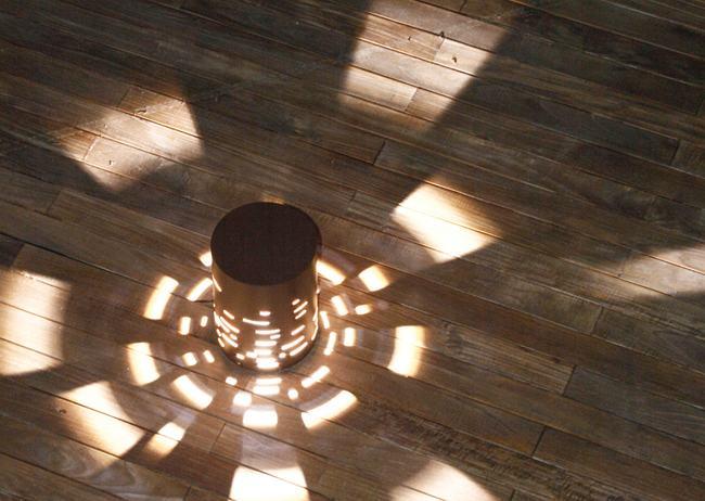 Iluminaci n de exteriores con destellos de luz - Iluminacion de exterior ...