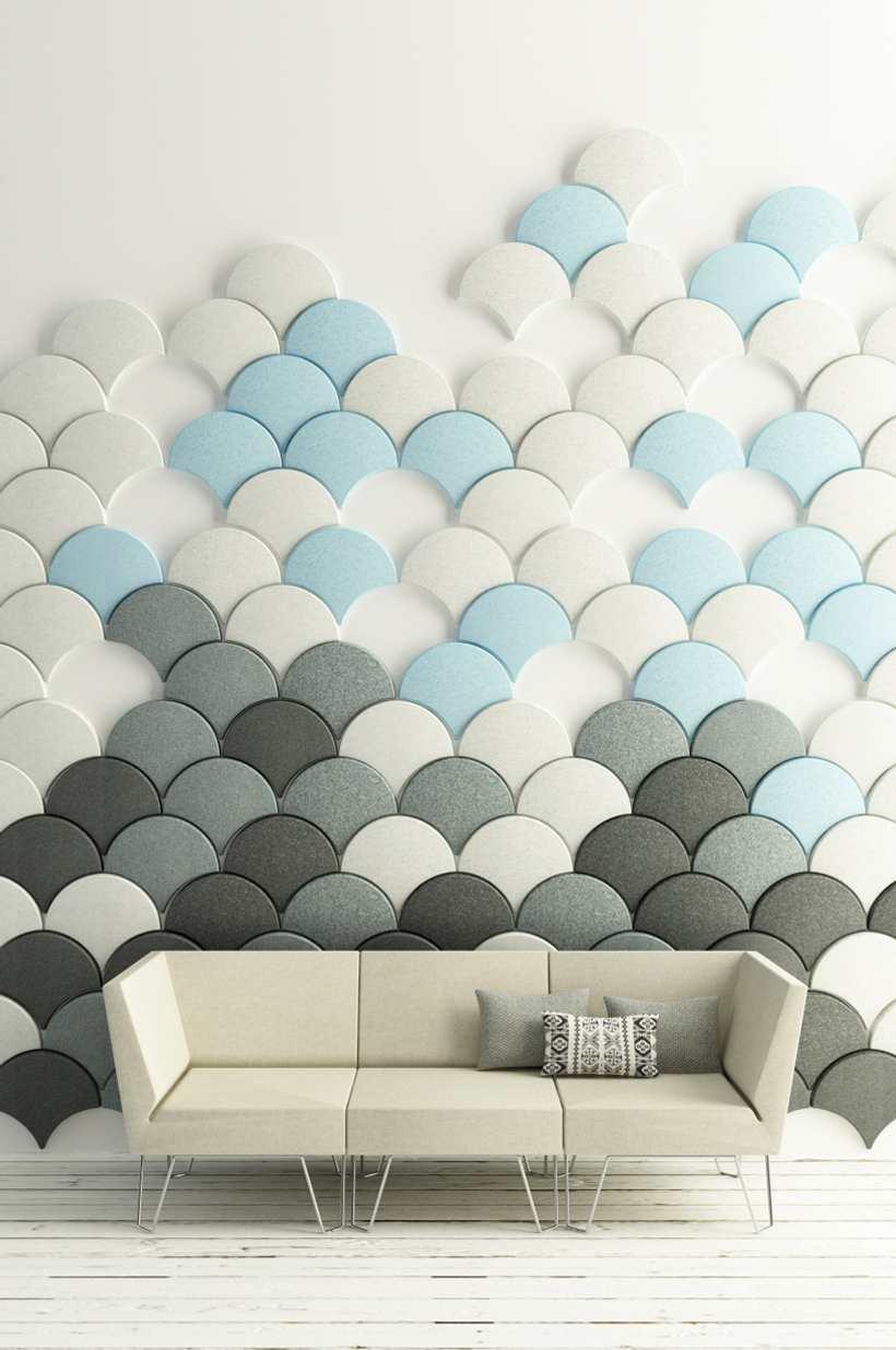 Paneles ac sticos de fieltro for Paneles decorativos de pvc