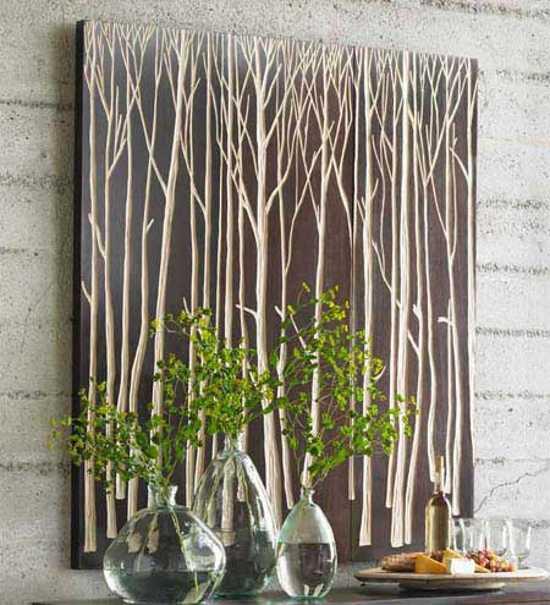 paneles artesanales decoracion paredes 1 Paneles Artesanales para la Decoración de Paredes