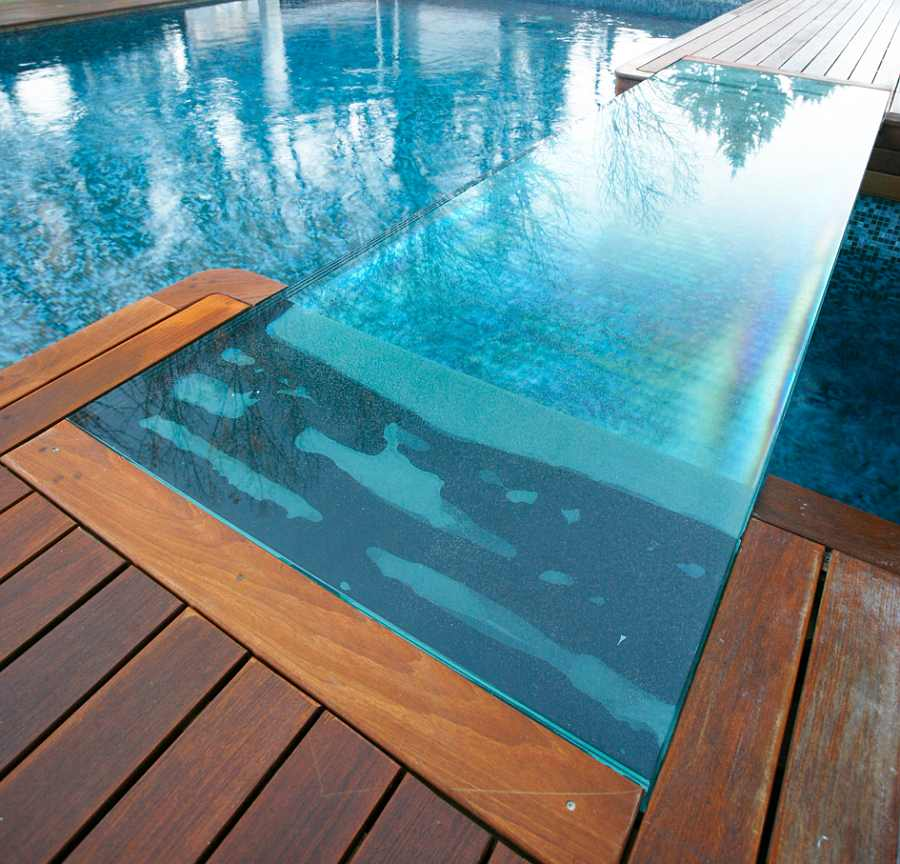 Pasarelas de vidrio para exterior y piscinas - Vidrio para piscinas ...