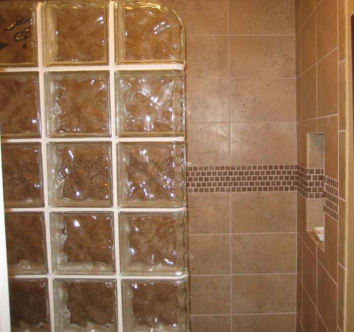 Aplicaciones del bloque de cristal segunda parte - Como montar mampara de ducha ...