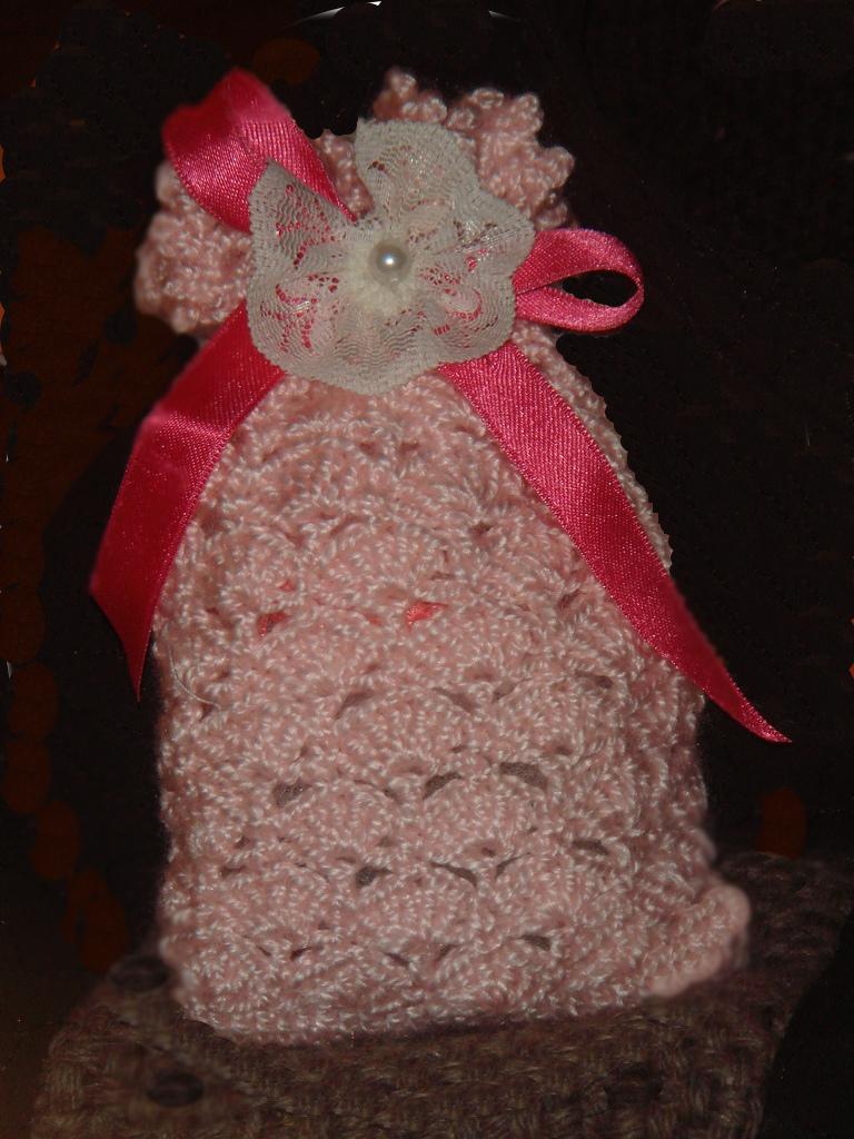 perfumero crochet 225x300 Saquitos perfumados para la casa