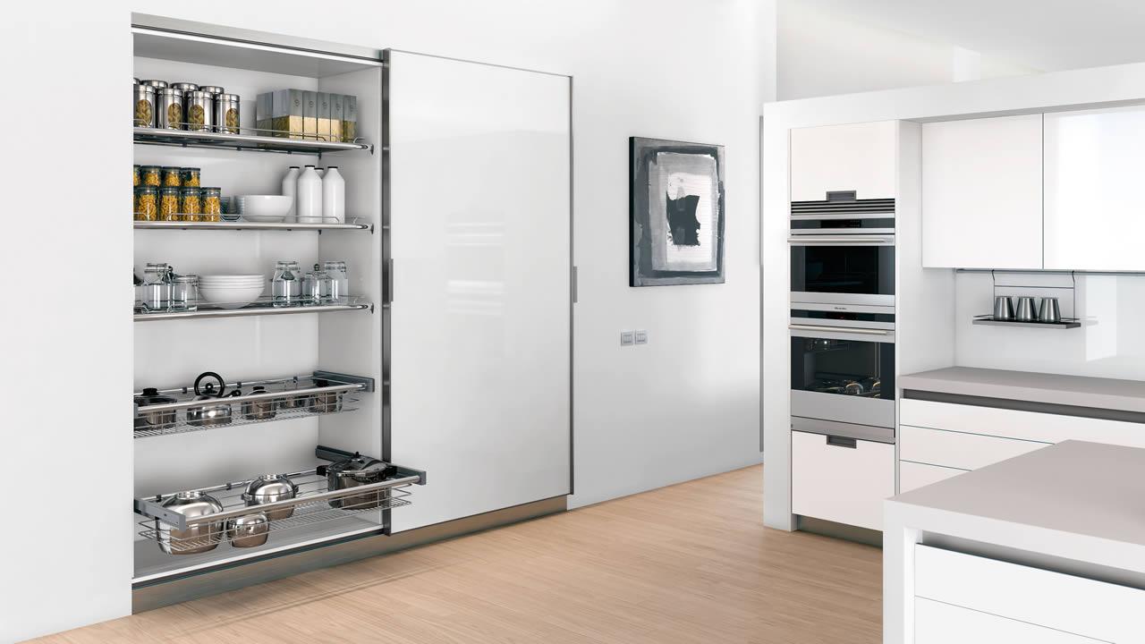 Sistema el ctrico para grandes puertas correderas - Puertas correderas para cocinas ...