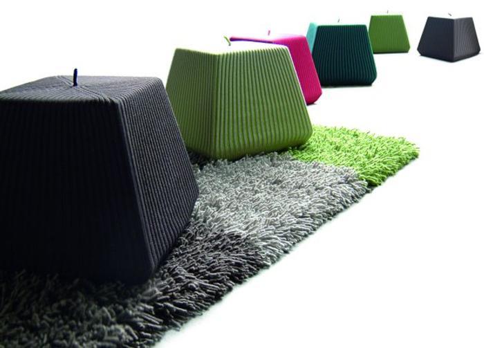 Puff de dise o para decoraci n de espacios modernos - Puffs de diseno ...