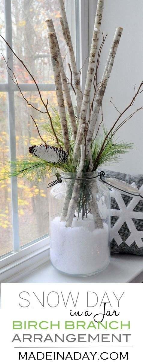 ramas secas para decorar