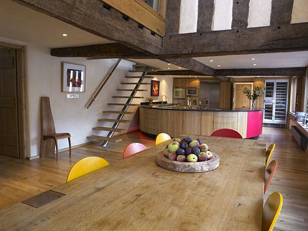 Restauraci n de una casa con toques originales y modernos - Restauracion de casas ...