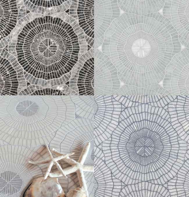 Mosaicos de dise o con original grabado for Disenos para mosaicos