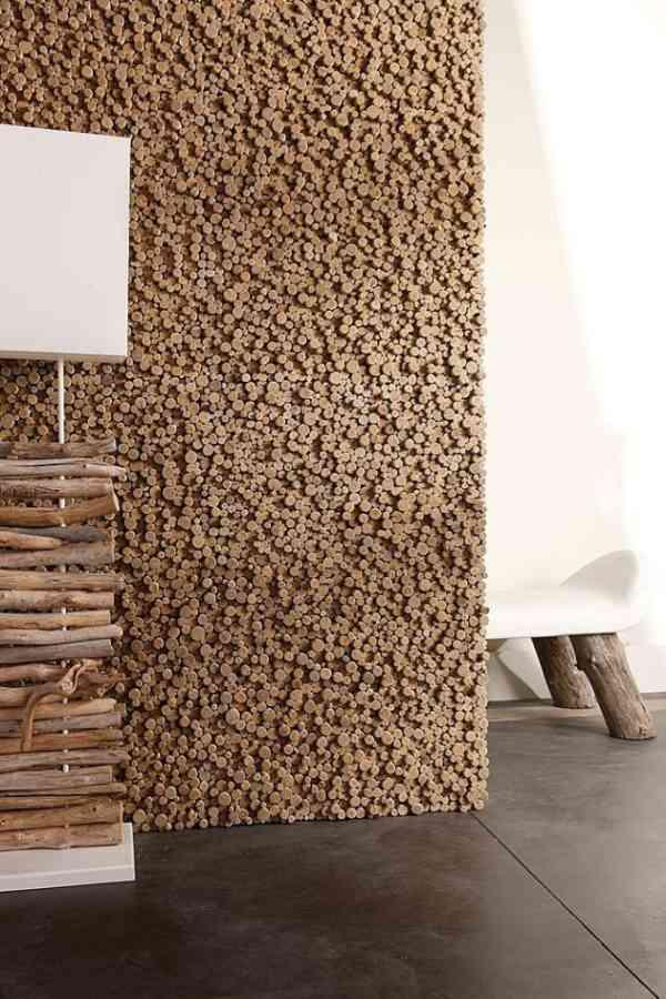 revestimiento original ecologico interiores modernos Revestimiento de Madera Original y Ecológico para Interiores Modernos