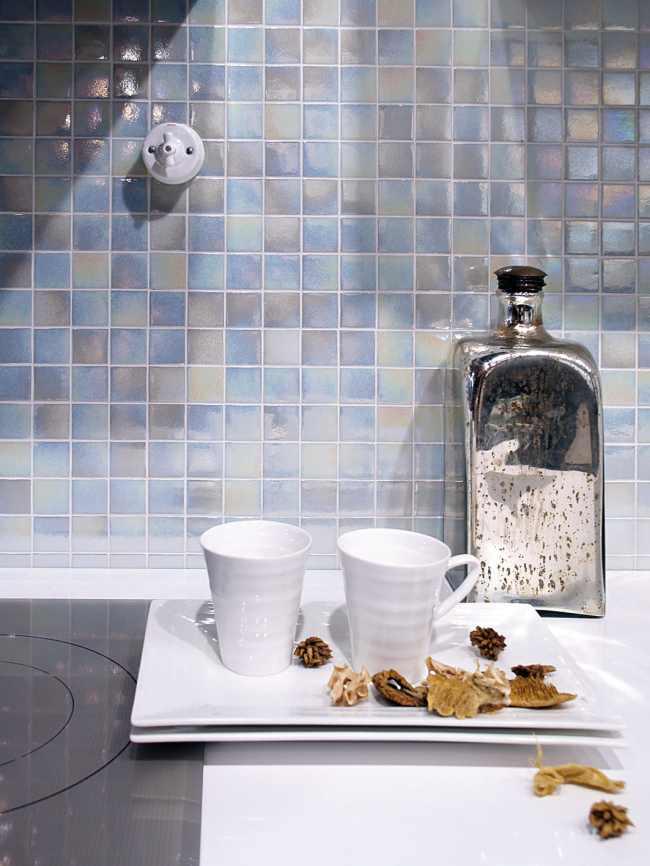 Revestimientos para cocinas con elegantes mosaicos v treos - Revestimientos cocinas sin obras ...