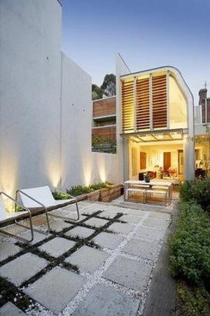 sendero losa jardin 10 Cómo Hacer un Sendero en el Jardín de Casa