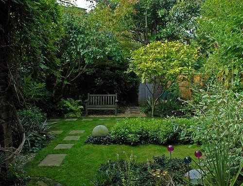 sendero losa jardin 5 Cómo Hacer un Sendero en el Jardín de Casa