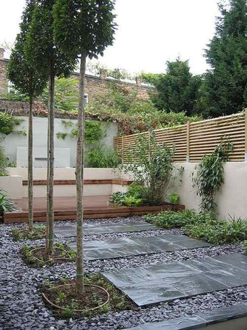 sendero losa jardin 6 Cómo Hacer un Sendero en el Jardín de Casa