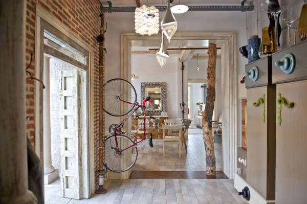 showroom de muebles de diseño