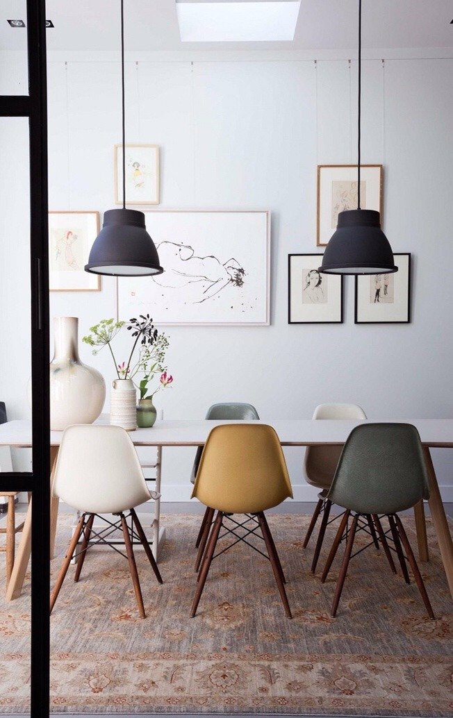 Silla DSW de Charles Eames