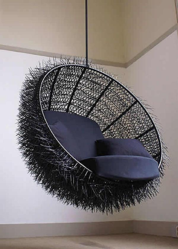 Para el diseu00f1o de esta silla, hecha a mano , se han utilizado cables ...