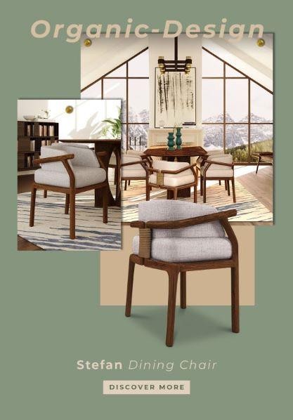 silla de diseño Stefan