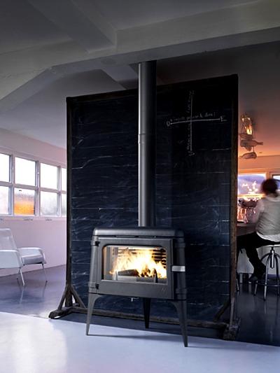 Chimeneas de hierro fundido para le a - Sistemas de calefaccion para casas ...