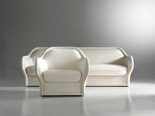 sofá de inspiración femenina