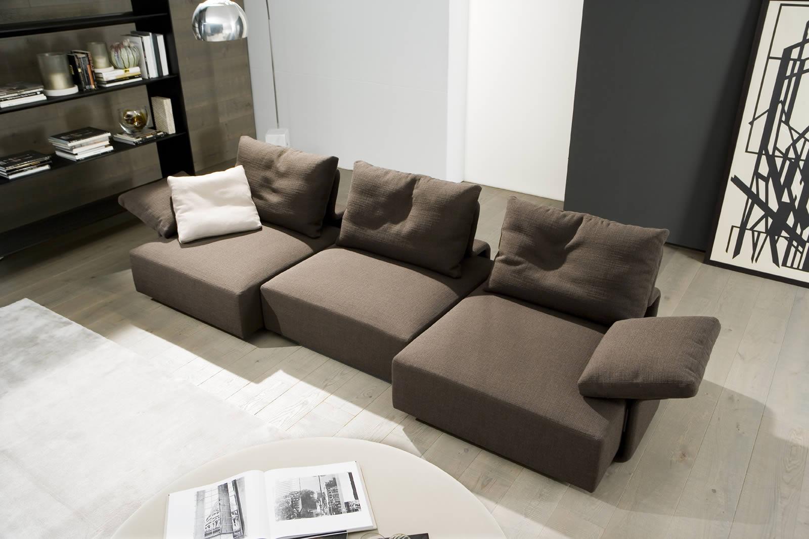 Pl y iluminaci n modular para hogares modernos for Sofa modular gris