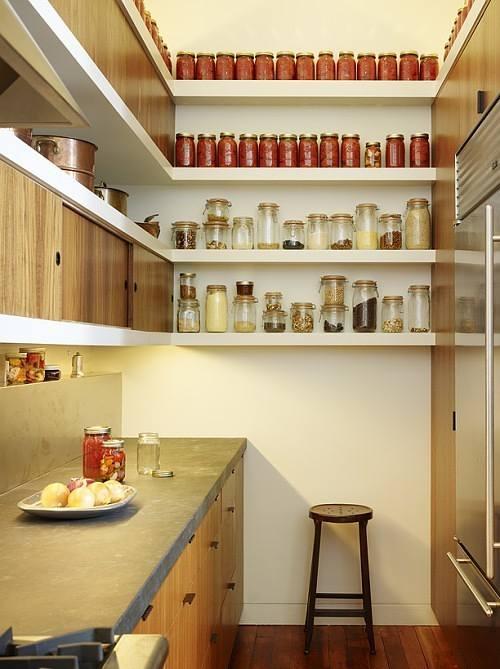 C mo ganar espacio en cocinas peque as - Soluciones cocinas pequenas ...