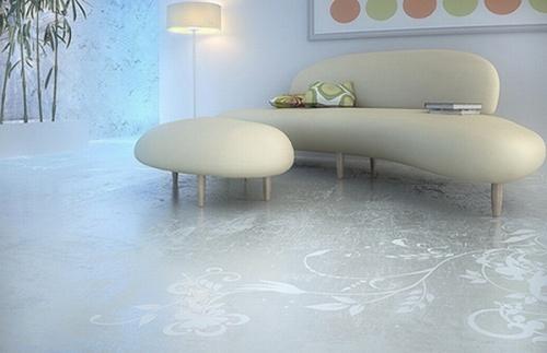 suelos concreto disenos decorativos 2 Suelos de Concreto con Diseños Decorativos