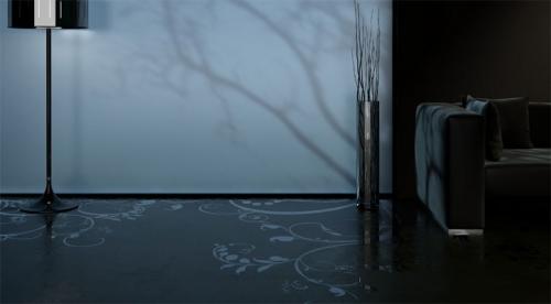suelos concreto disenos decorativos 3 Suelos de Concreto con Diseños Decorativos
