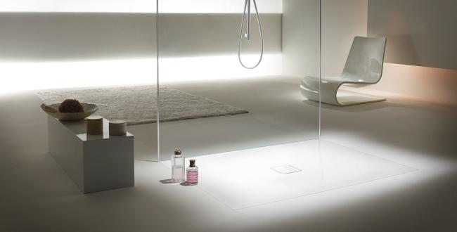 Superficies de ducha vitrificadas para ba os modernos for Banos actuales diseno