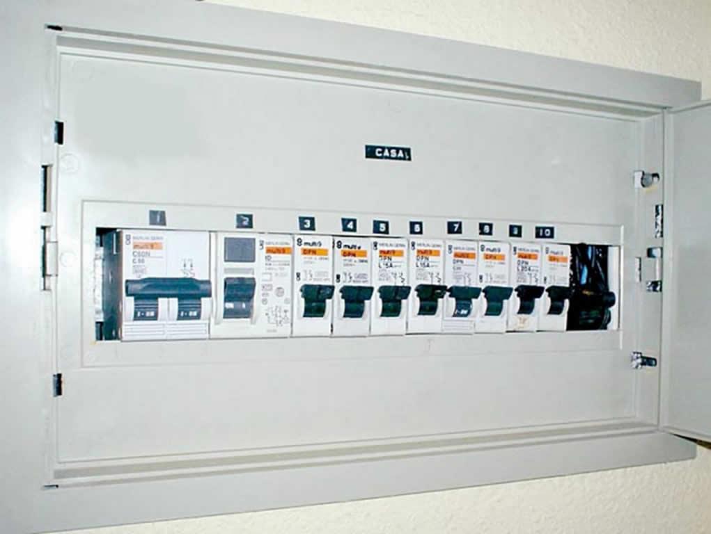 Manipular con seguridad la instalaci n el ctrica - Cuadro electrico domestico ...
