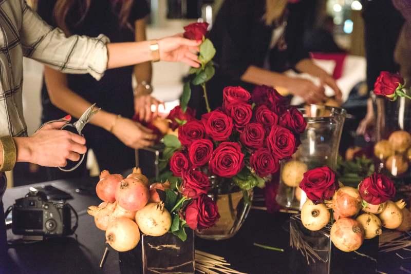 prácticos talleres florales