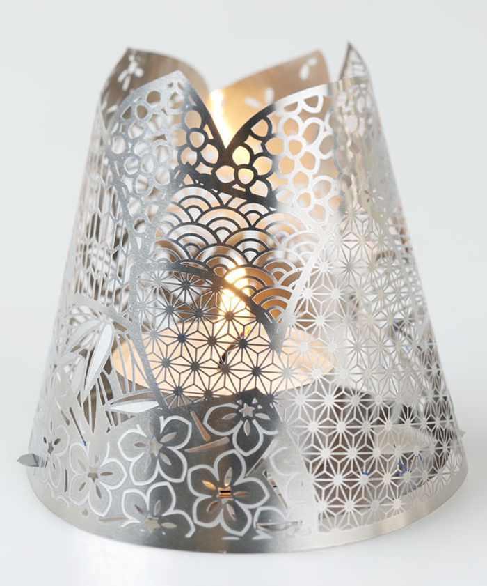 tea light shade kimono poli Accesorios para Decorar en Navidad