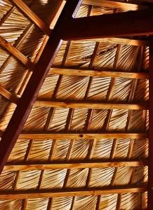 techo quincho 218x300 Quinchos: espacios para recreación