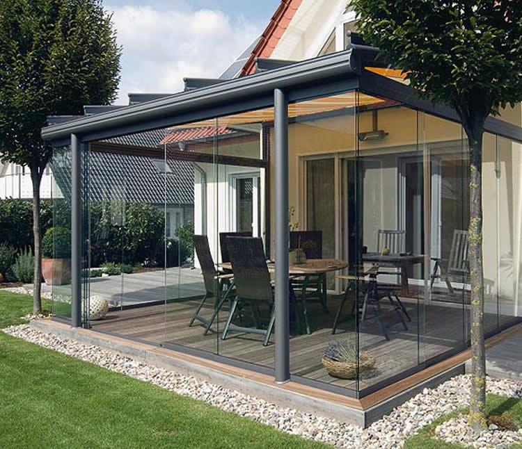 C mo crear un espacio fresco en verano for Terrazas techadas de madera