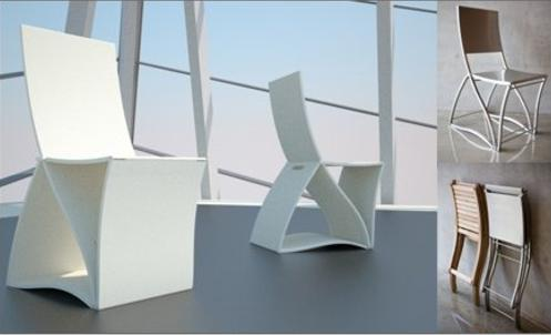 Tertulia silla plegable de dise o for Sillas plegables diseno