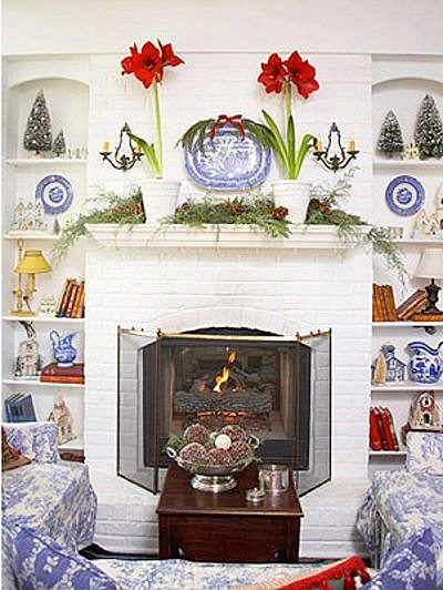Tips Decoración Navidad - Ideas para Decorar Chimeneas