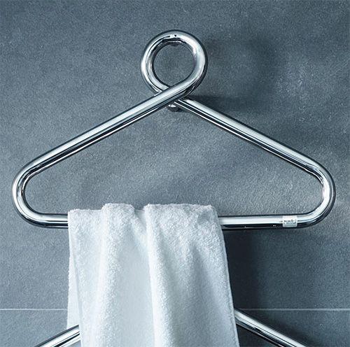 toallero práctico para el baño