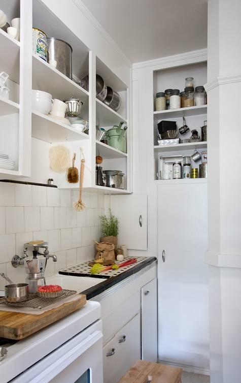 trucos decoracion cocinas espacios reducidos Trucos de Decoración de Cocinas Pequeñas