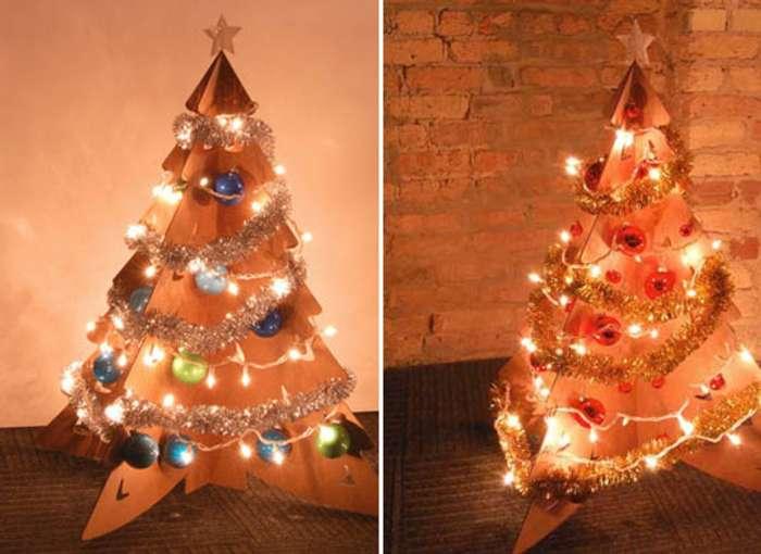 Adornos para el rbol de navidad para hacer con nios - Como hacer un arbol de navidad de carton ...