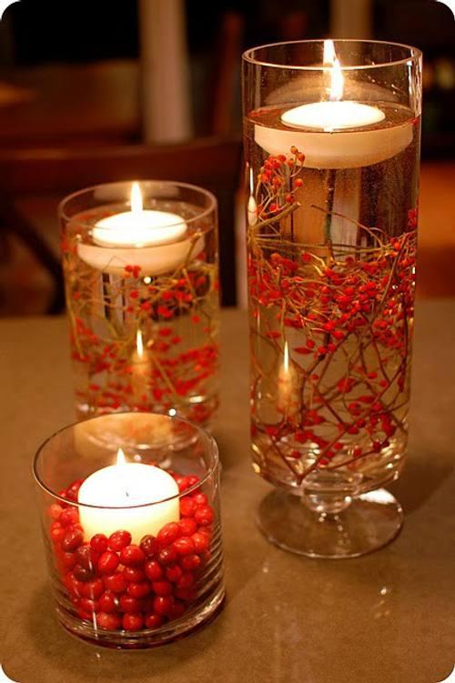 velas navidad mas ideas decoracion 4 Velas en Navidad, Más Ideas de Decoración