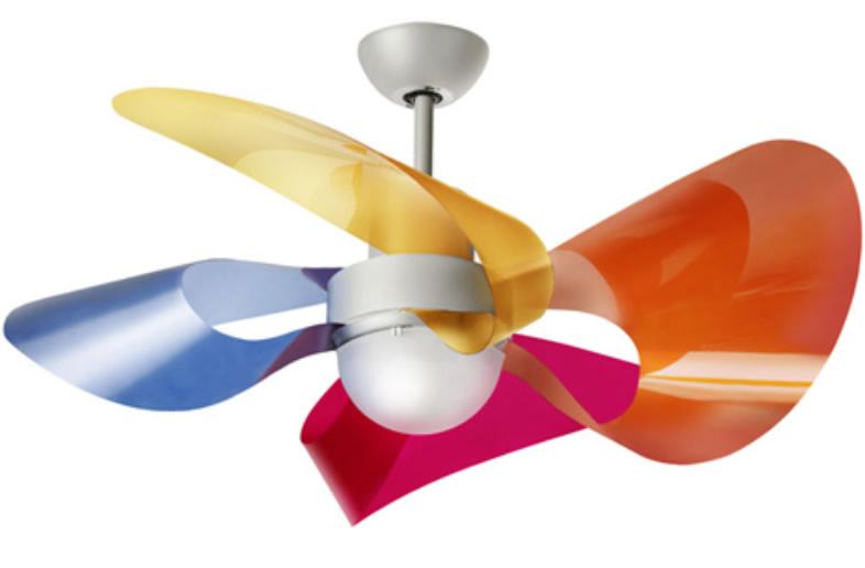 Ventilador de techo de dise o y color - Ventilador techo diseno ...